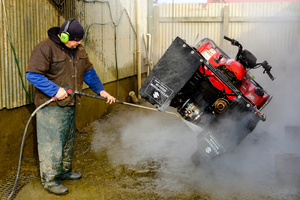 Steam Clean at Winton Motorcycles